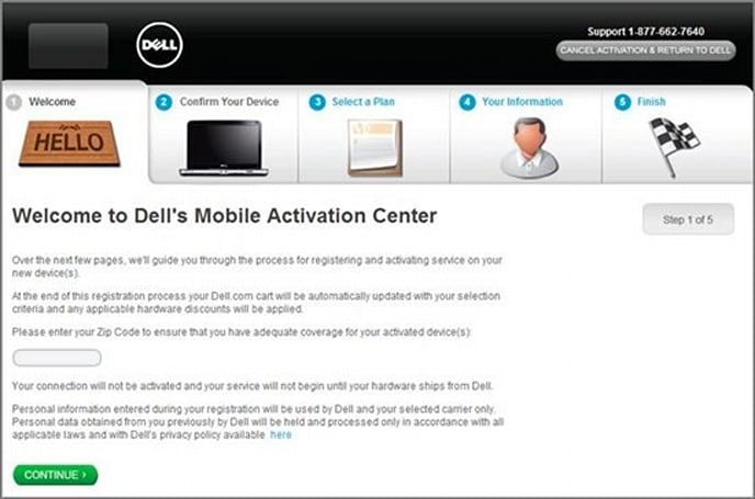 Dell's Mobile Activation Center launches, getting trapped in contracts gets a whole lot easier