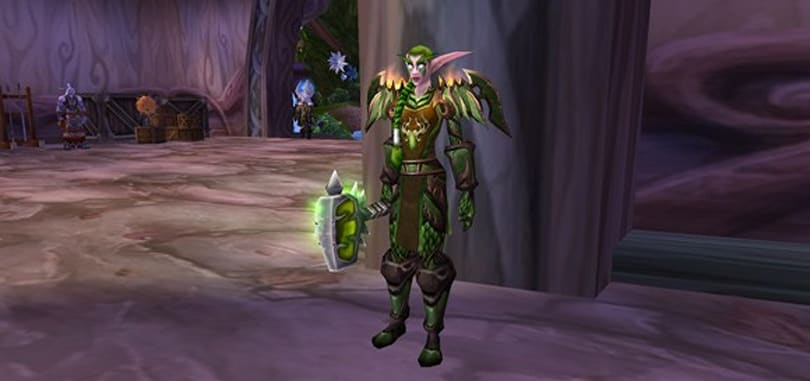 Become a Guardian of Hyjal with transmogrification