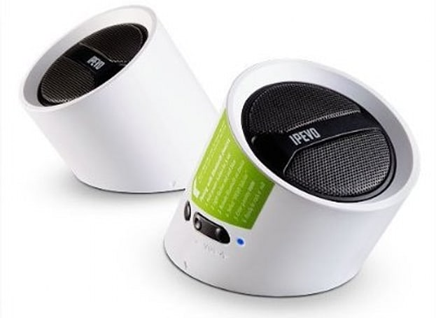 IPEVO Tubular wireless speakers aren't quite totally tubular, still slightly rad