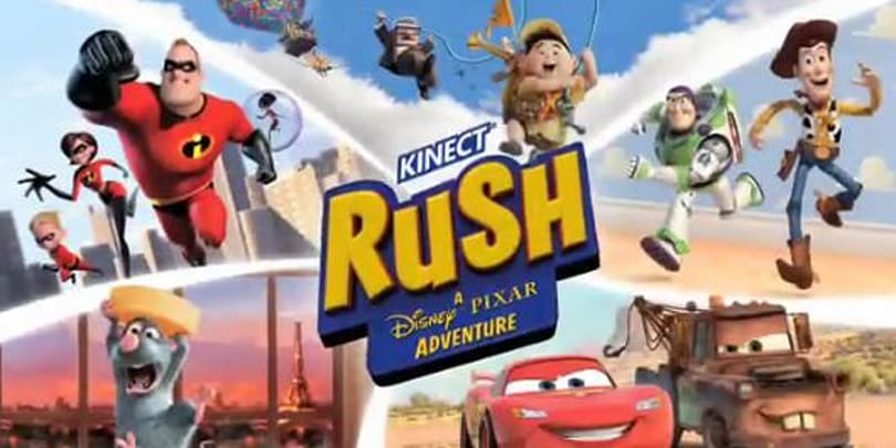 Kinect Rush: A Disney Pixar Adventure combines Kinect and Pixar flicks next March
