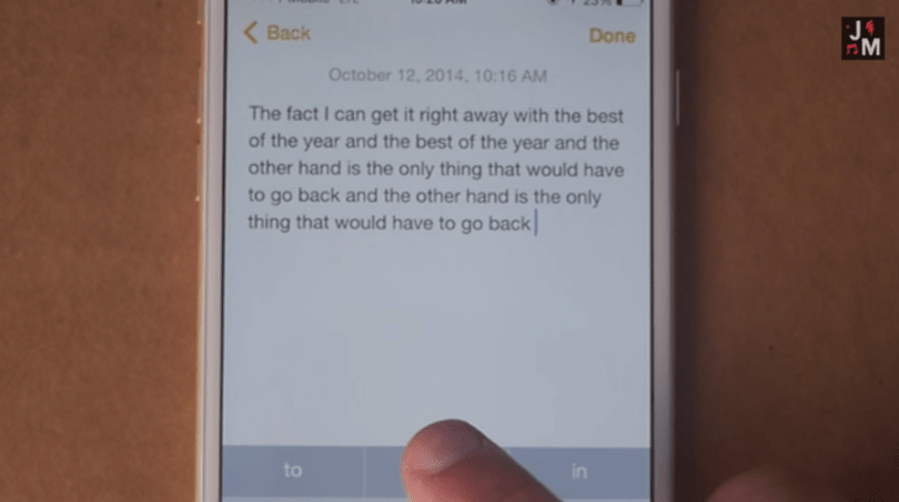 Songwriter Jonathan Mann uses iOS QuickType for lyrics inspiration