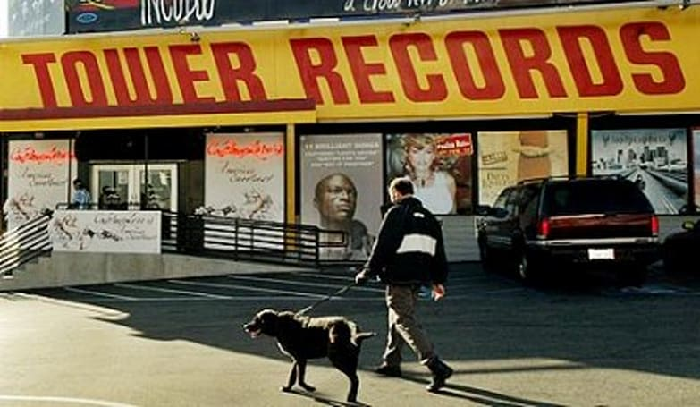Tower Records offering 25% off games