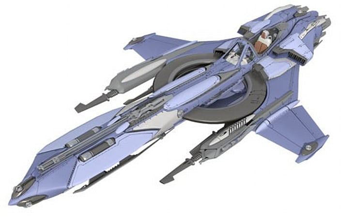 See more pics of Star Citizen's Constellation (and its detachable starfighter)