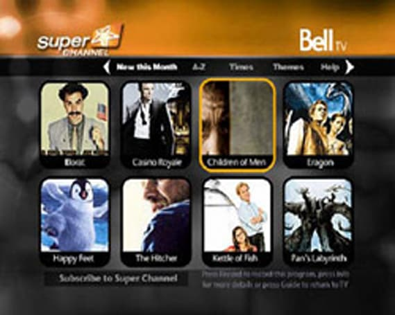 OpenTV brings movie portal application to Canada's Bell TV
