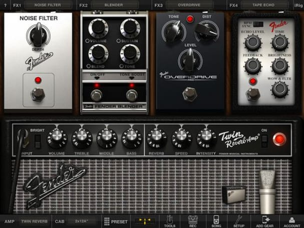 AmpliTube Fender for iPhone & iPad set for imminent release