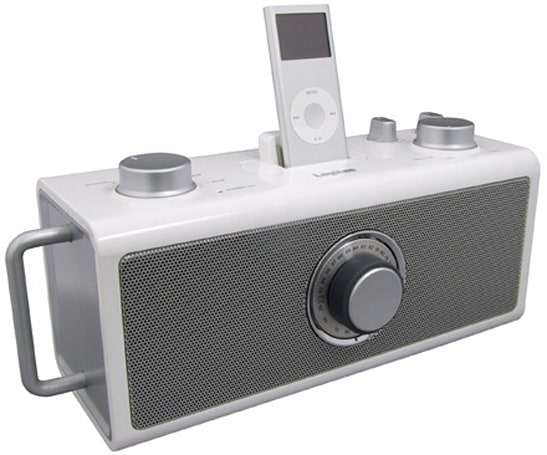 Logitec cranks out six new iPod speaker stations