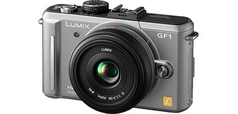 Panasonic adds silver and pink body options to GF1, exhibits poor timing
