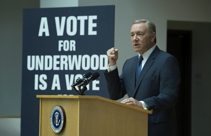 'House of Cards' S4 trailer shows it has some intrigue left
