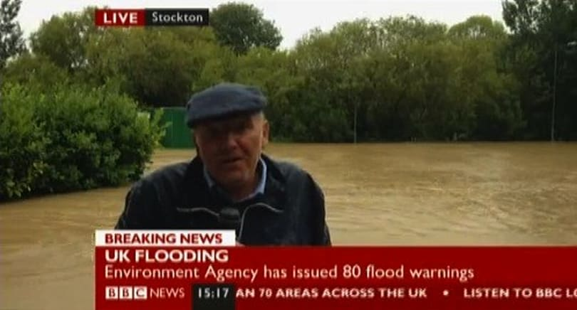 BBC News Channel conducts live video interview over smartphone, goes where satellites can't (update with video)