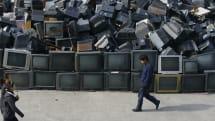 亚洲正面对严重电子废料问题