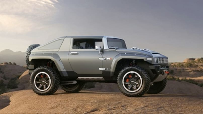 GM says its new Hummer HX concept is inspired by ATVs, not Halo