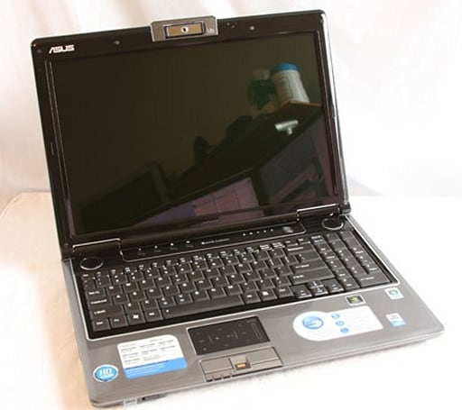 ASUS M50S multimedia laptop seen in the wild