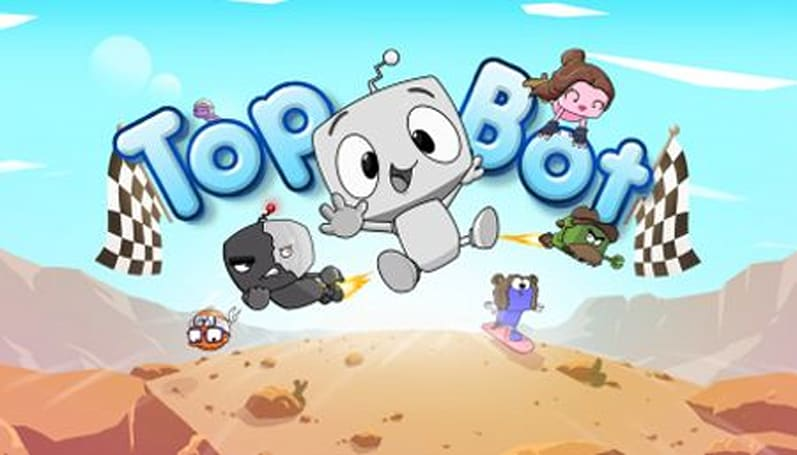 Daily iPhone App: Top Bot combines 2D platforming with asychronous racing