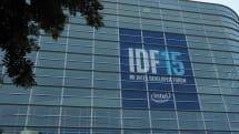 Live from the Intel Developer Forum 2015 keynote!