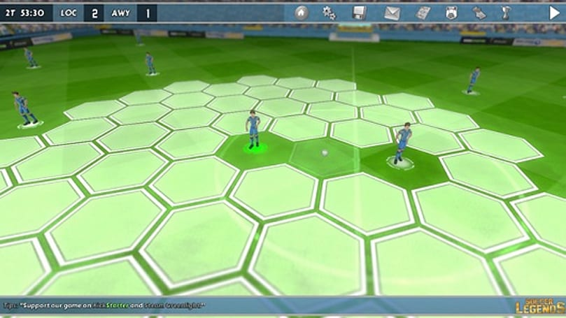 Soccer Legends combines sports and turn-based strategy on Kickstarter