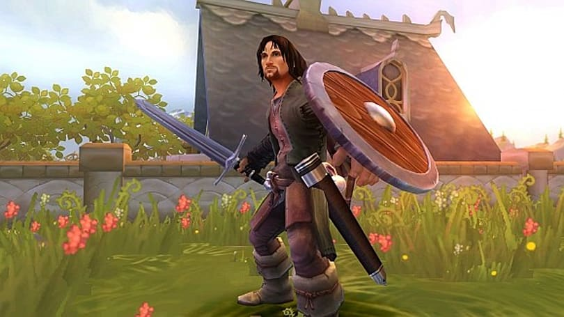 Screens, video from LOTR: Aragorn's Quest are just adorable