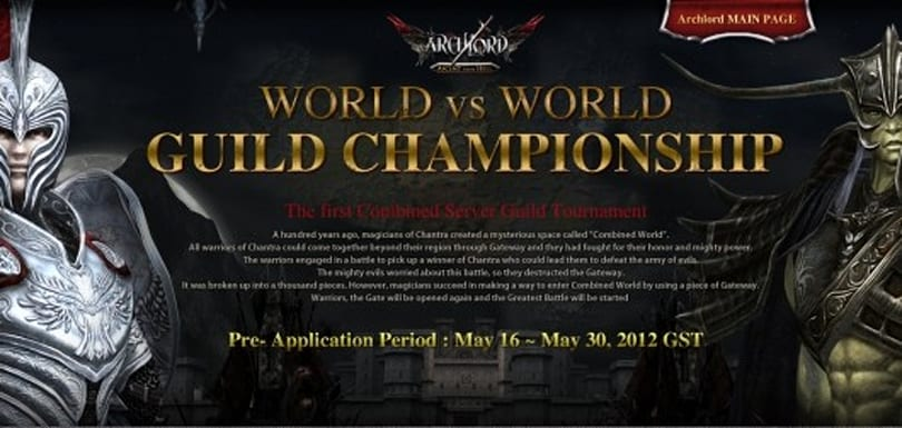 Archlord hosts first combined server guild tournament