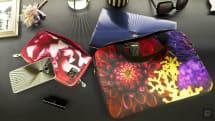 華碩與當代藝術攝影師蜷川實花合作,推出聯名款手拿包與筆電包