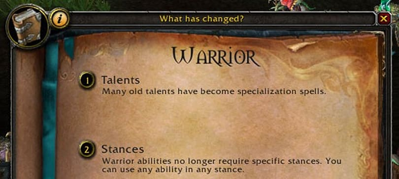 Mists of Pandaria: 'What has changed?' makes class changes more palatable