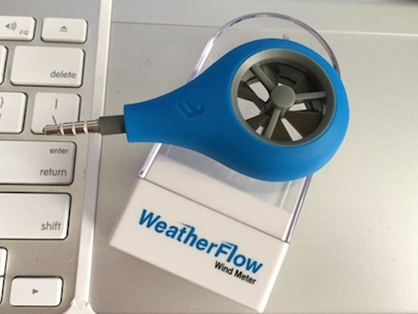 WeatherFlow Wind Meter turns your iPhone into an accurate anemometer