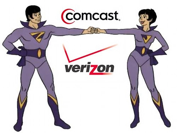 Verizon, Comcast activate Wonder Twin powers in six more markets with cross-sales deal