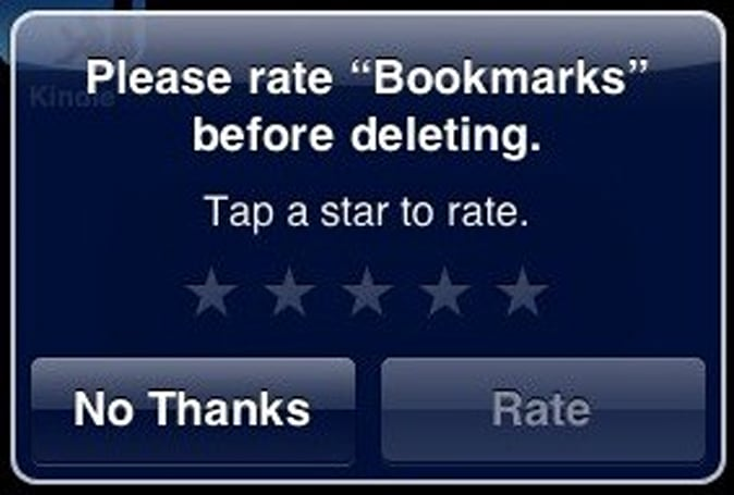 "Apple ditches ""Rate on Delete"" in iPhone OS 4"