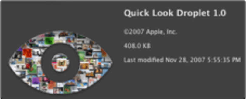 Quicklook your downloads automatically