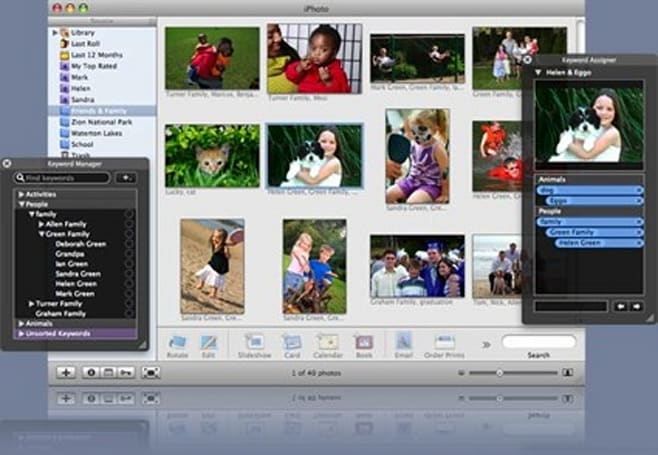 Keyword Manager updated for iPhoto '08
