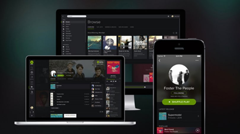 Spotify's facelift and more news for April 2, 2014