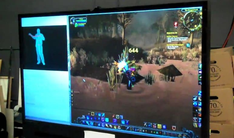 Free Kinect keyboard emulator lets you WoW while AFK (video)