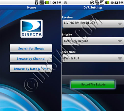 DirecTV mobile app now live on Android Market