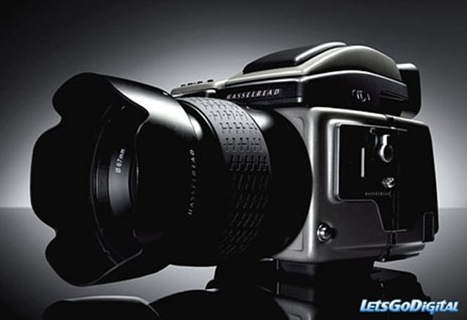 Hasselblad's 39 megapixel H3DII-39MS DSLR brings the multi-shot