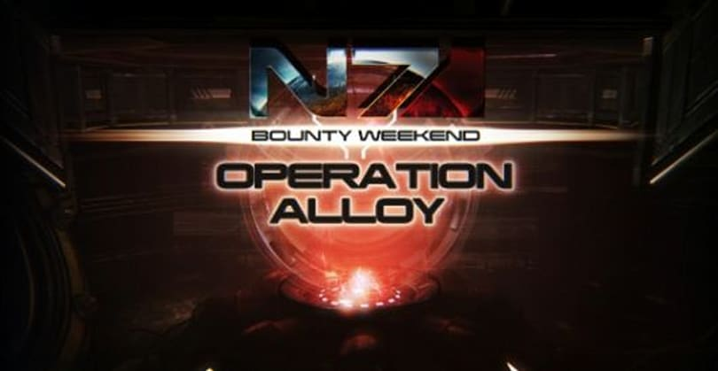 Mass Effect 3 takes on Operation: Alloy this weekend