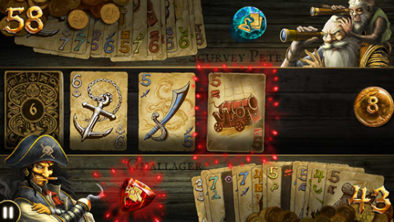 Strategic iOS game Dead Man's Draw getting physical card game version