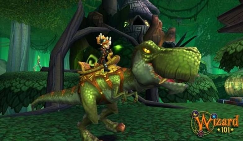 Wizard101 invites us to the dinosaur world of Azteca