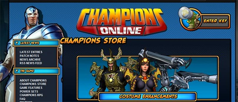 Anti-Aliased: I like walking into towering infernos (like the Champions Online C-Store)