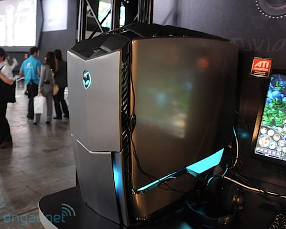 Alienware's redesigned Area-51, Aurora, and updated M15x hands-on