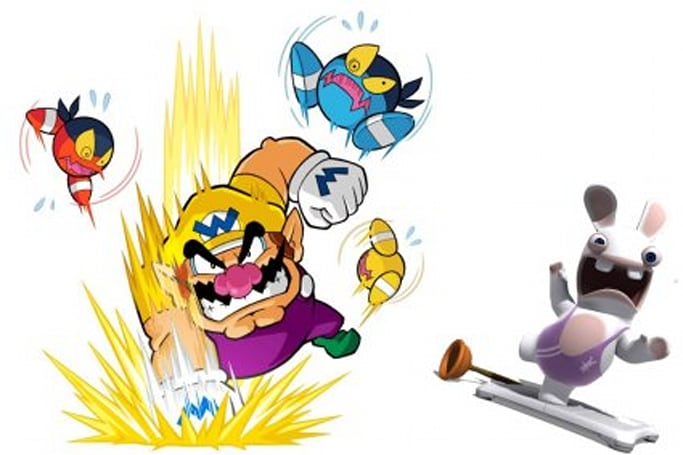 Have a Wario Party with Rabbids at Amazon