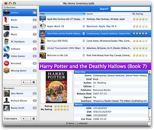 Librarian Pro: Keep track of your media and more on Mac and PC