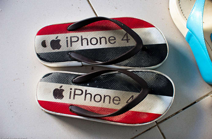 The little-known iPhone 4sandal
