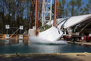 NASA starts drop testing Orion with a dummy crew on board