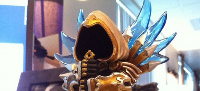 12 Days of Winter Veil Giveaway: Mini Tyrael statuette