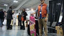 Visualized: Marty McFly impersonator shows off ZBoards' hoverboard-inspired creation