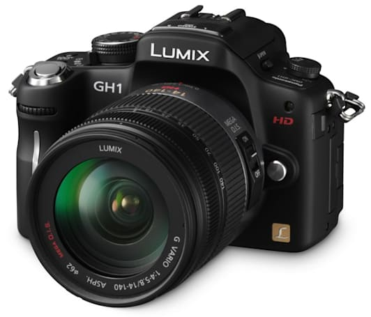 Panasonic Lumix DMC-GH1 goes up for pre-order, for $1,499