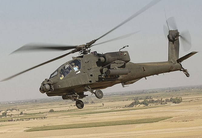 Apache's new infrared targeting system spots foes when they fire, doesn't wait for the smoke