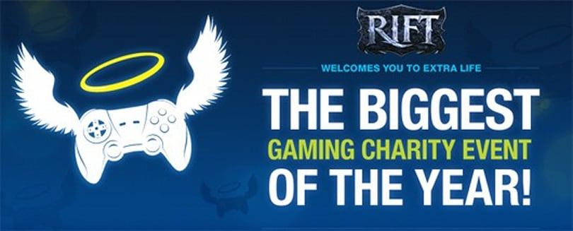 RIFT Extra Life charity event coming in October