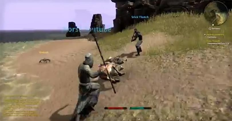 First 20 minutes of Elder Scrolls Online gameplay leaked