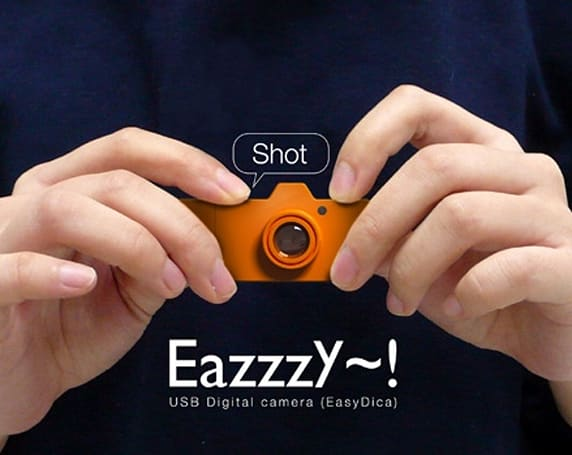 EazzzY USB stick camera concept, for taking pretend pictures
