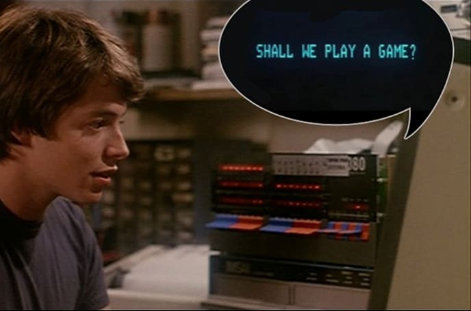 WarGames 'Shall we play a game?' computer for sale; credit cards at DEFCON 1 (video)