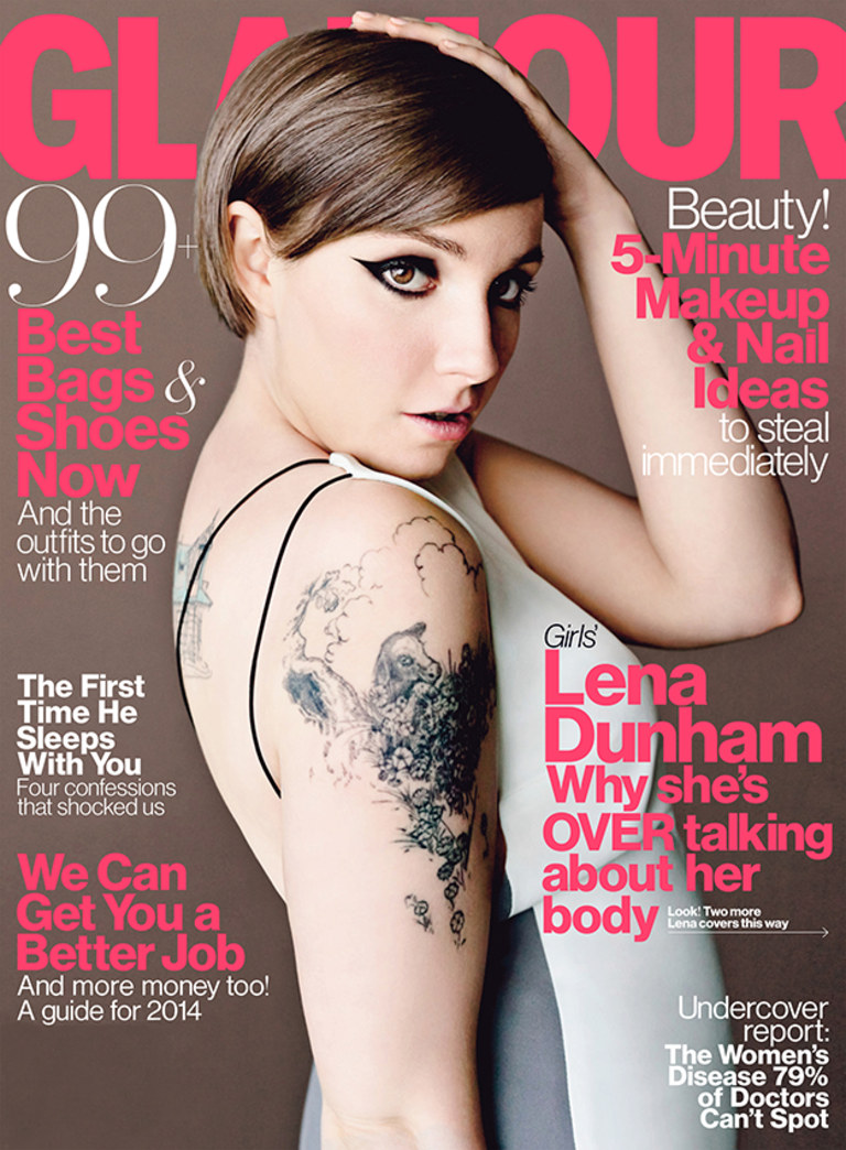 Top 9 at 9: Lena Dunham covers 'Glamour' like a boss & more news